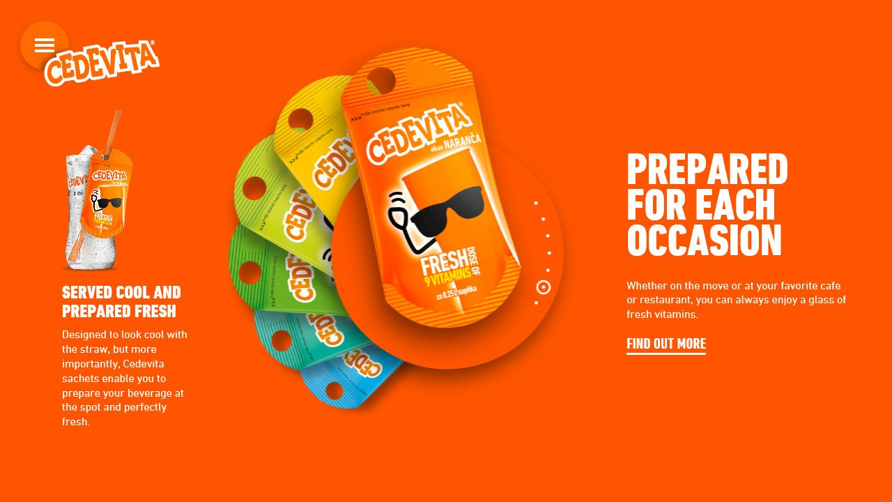 Cedevita International horeca