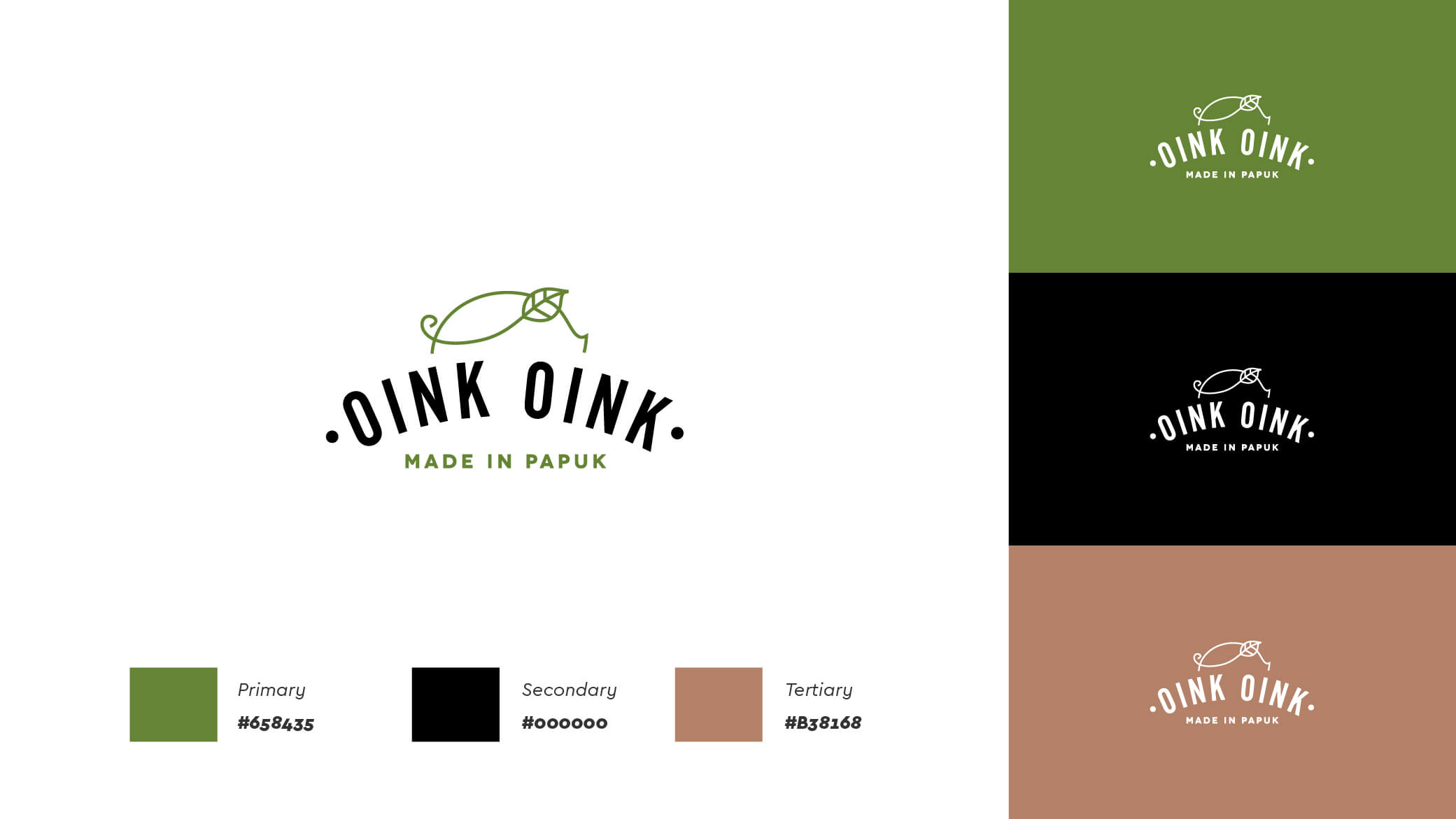 OinkOink colors