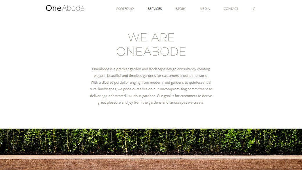 One Abode services
