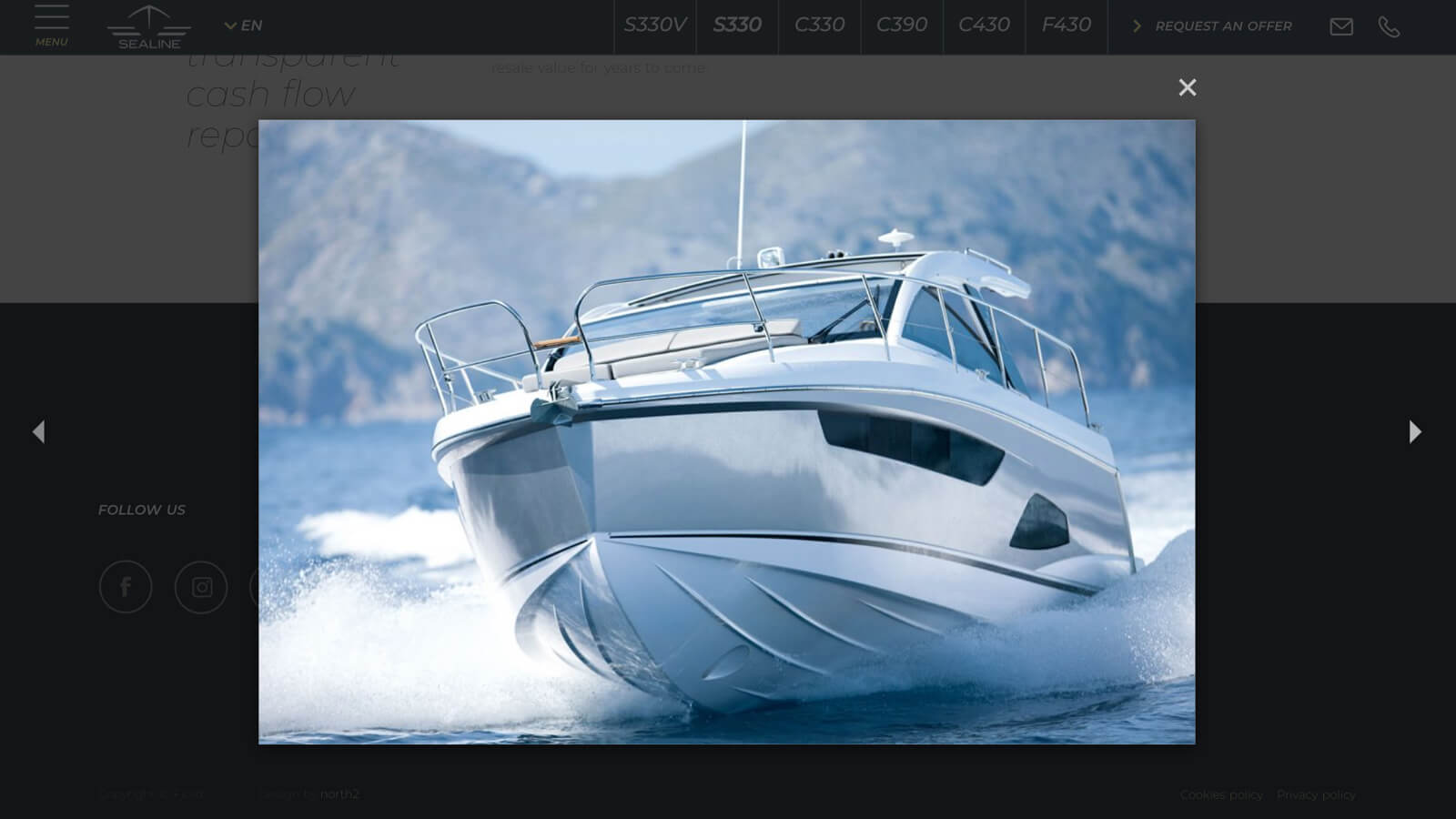 Sealine yacht gallery